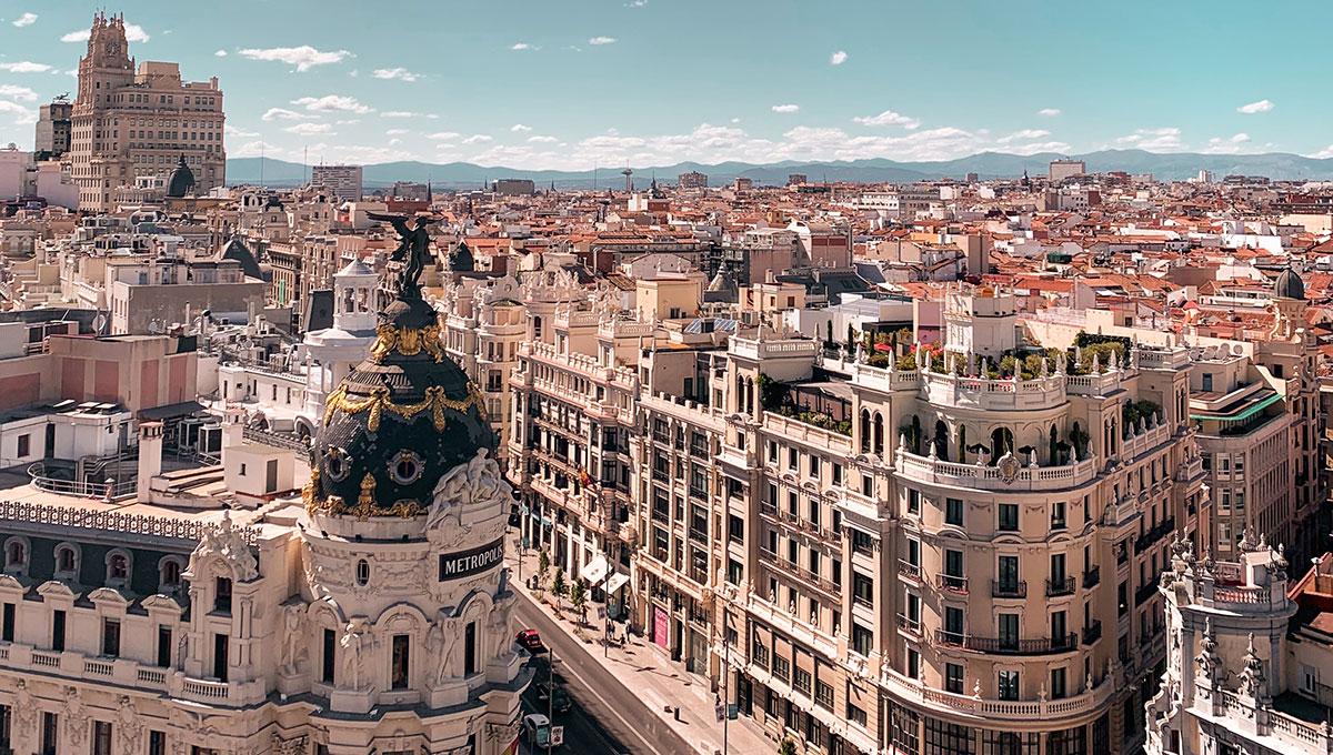Vista de Madrid