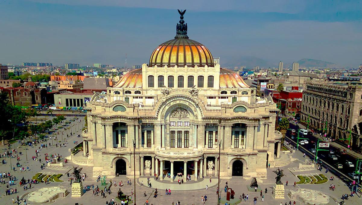 Vista de la ciudad de México
